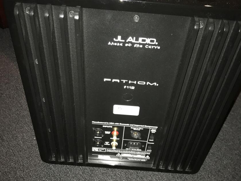 JL Audio Fathom 112 version 1 pair available gloss black