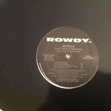 Monica Don't Take It Personal Rowdy Records Promo 12 Inch