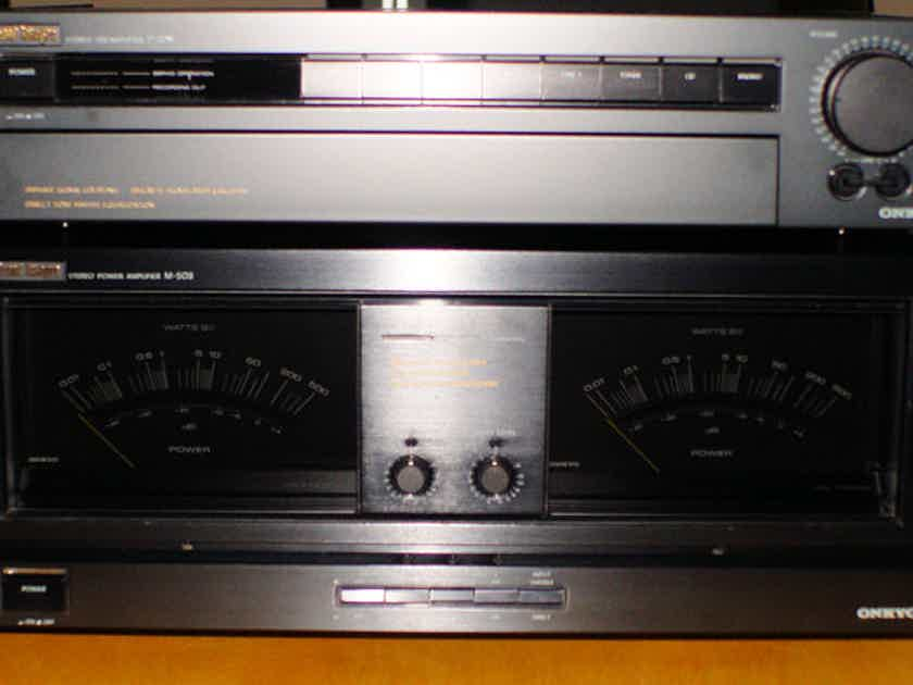 Onkyo  Grand Integra M-508 Stereo Power Amplifier Excellent Condition 200Wx2