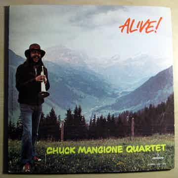Chuck Mangione Quartet  - ALIVE!  - 1972 Orig Mercury S...