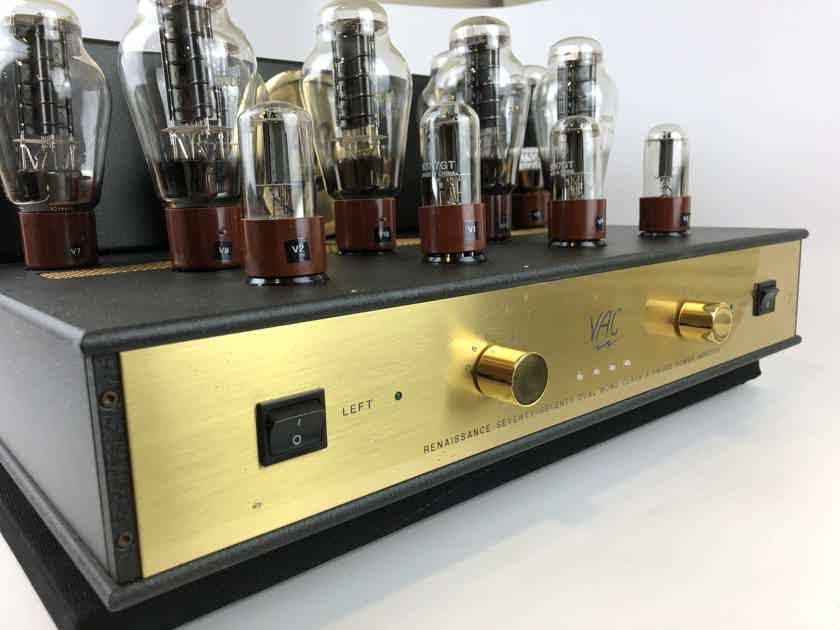Valve Amplification Company Renaissance Seventy/Seventy 70/70 Dual Mono Tube Amplifier