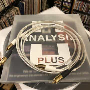 Analysis Plus Inc. Silver Apex RCA Interconnect WOOF!!