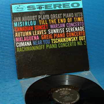"JAN AUGUST   - ""Plays Great Piano Hits"" -  Mercury 1959..."