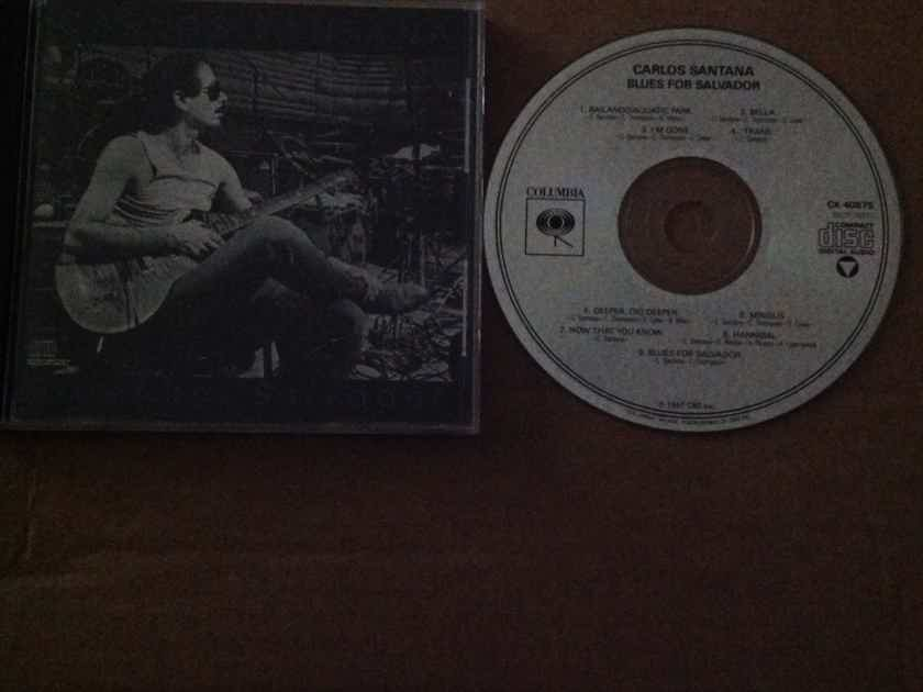 Carlos Santana - Blues For Salvador Not Remastered Compact Disc  Columbia Records