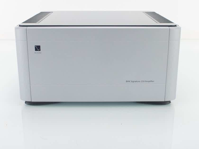 PS Audio BHK-250 Stereo Power Amplifier; Silver; Tungsram Tubes; Warranty; MINT (18644)