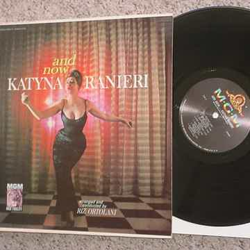 Katyna Ranieri and now lp record Riz Ortolani MGM E3880