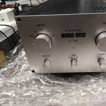 Kondo AudioNote Japan M7 tube Silver + MM Phono