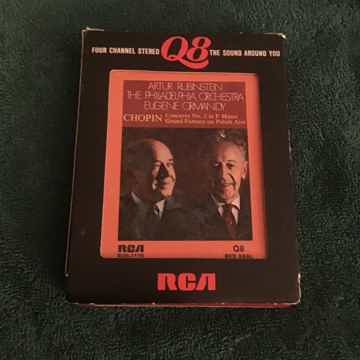 Artur Rubinstein  Chopin Concerto No. 2 In F Minor RCA ...