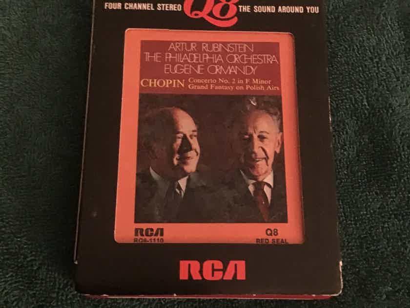 Artur Rubinstein  Chopin Concerto No. 2 In F Minor RCA Quadraphonic 8 Track