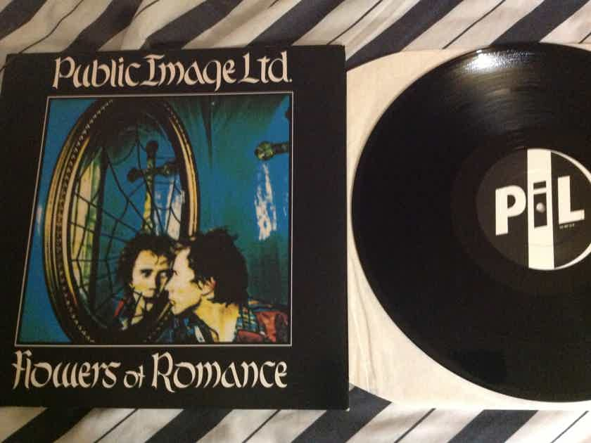 Public Image Limited - Flowers Of Romance(Extended Version) 12 Inch Vinyl  U.K.  Virgin Records NM