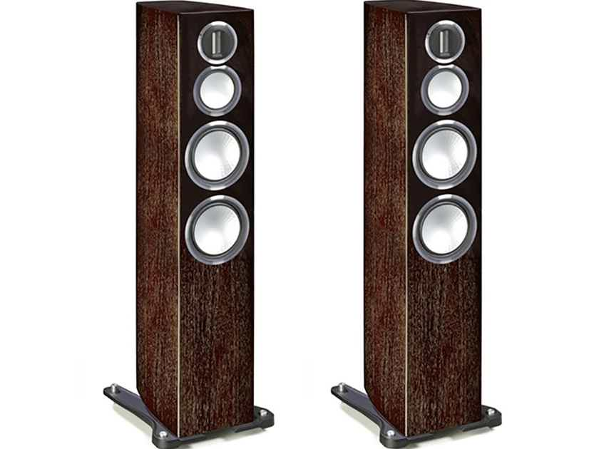 Monitor Audio Gold 300 Floorstanding Speakers (4G - Discontinued): NEW-in-Box; 5 Yr. Warranty*; 35% Off