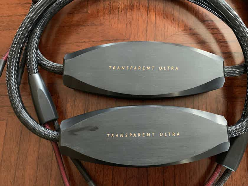 Transparent Audio Musicwave Ultra G5 (USC8) Speaker Cable - 8ft./pair - DEMO/Warranty