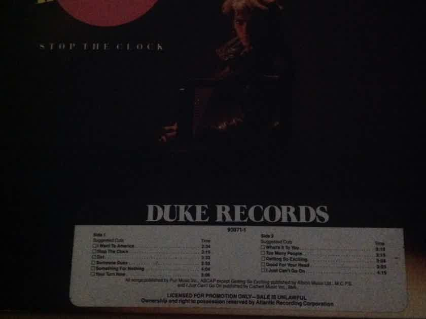 Lee Kosmin - Stop The Clock Duke Records Promo Vinyl LP NM