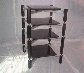 Adona AV45CS4 Four shelf rack