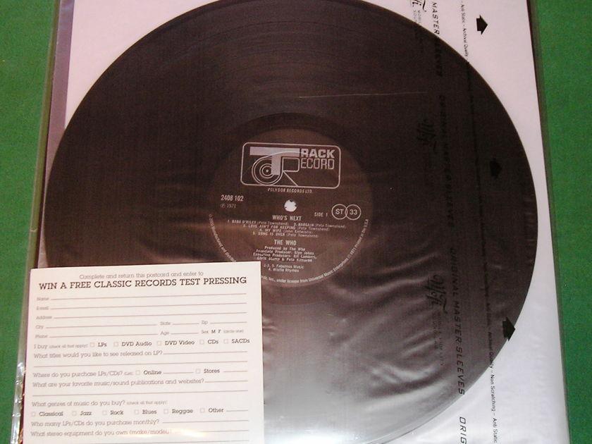 SUZANNE VEGA - BEAUTY & CRIME - * RARE CLASSIC RECORDS 200 GRAM PRESS *   NM 9/10