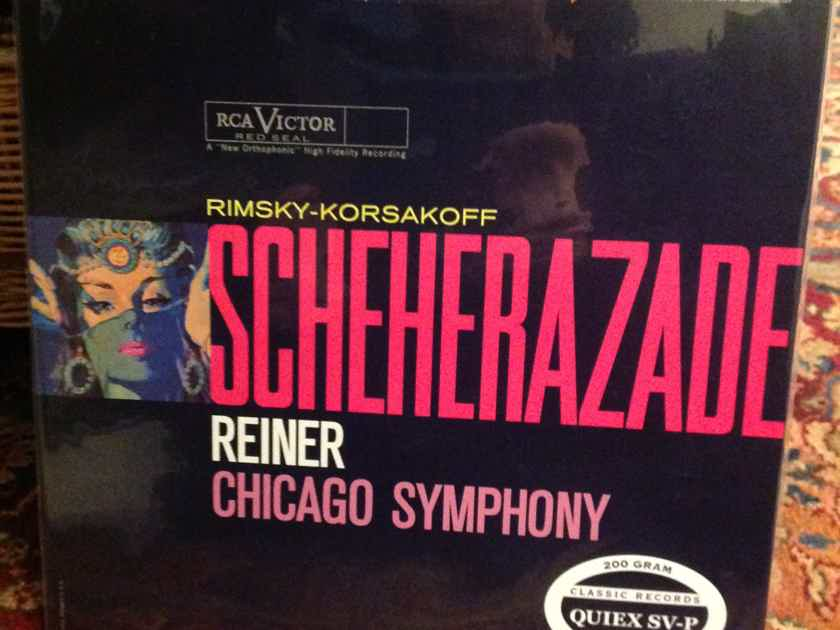 Scheherazade - Chicago Symphony RCA Red Seal 200g Classic Records -  Sealed
