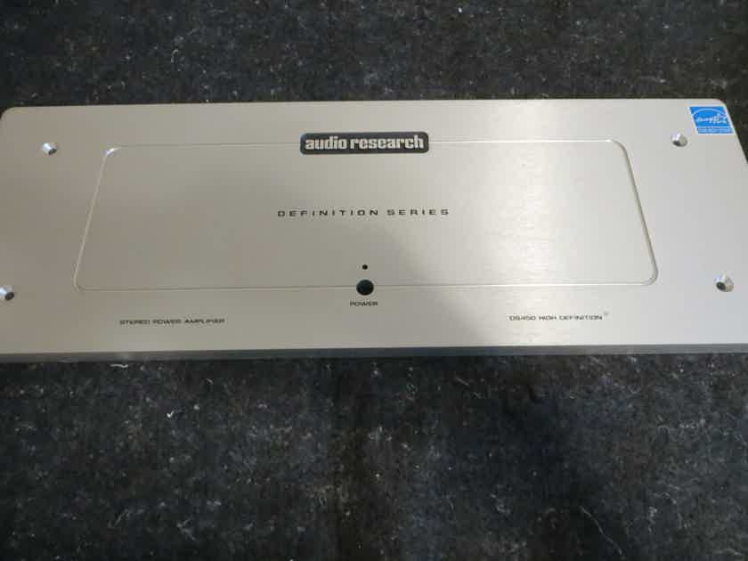 Audio Research DS-450 Sliver Face plate