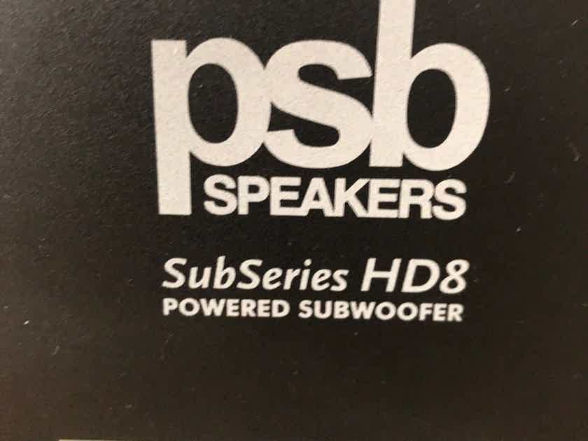 PSB SubSeries HD8