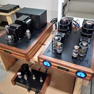 Aric Audio Super 211 SET Amplifier~ MINT condition with...