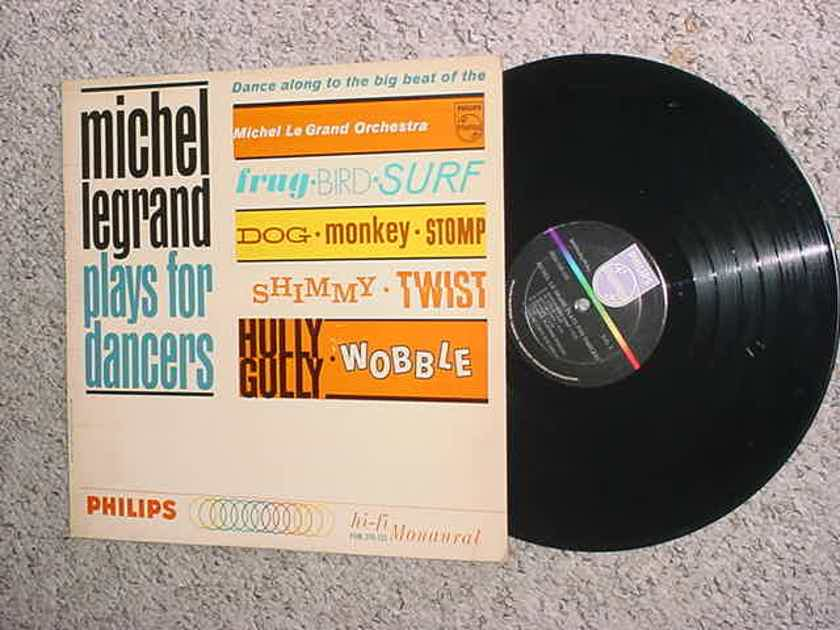 Michael Legrand plays for dancers - lp record very good SEE ADD PHILIPS HI FI MONAURAL PHM 200-155