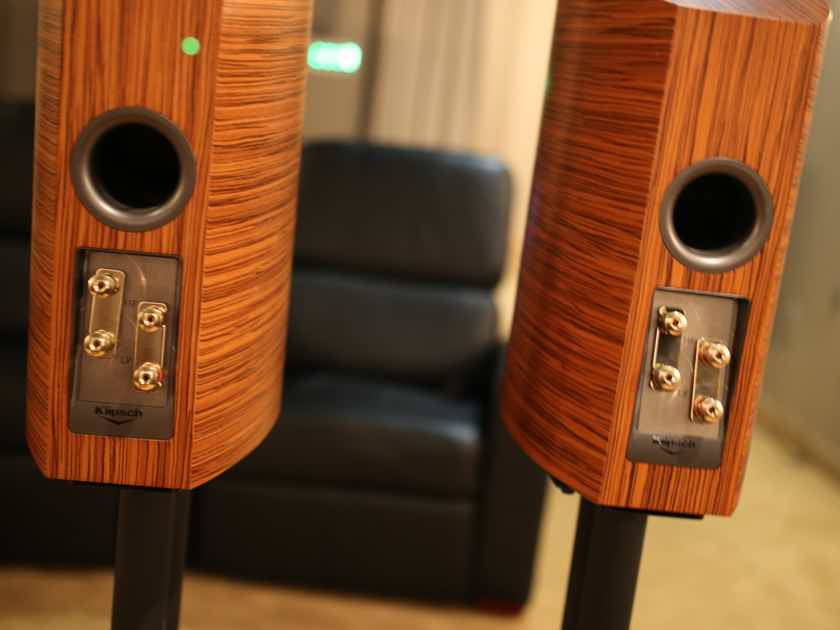 Klipsch Palladium P 17b Bookshelf Speakers Natural Finish PAIR W Manufacturers Warranty