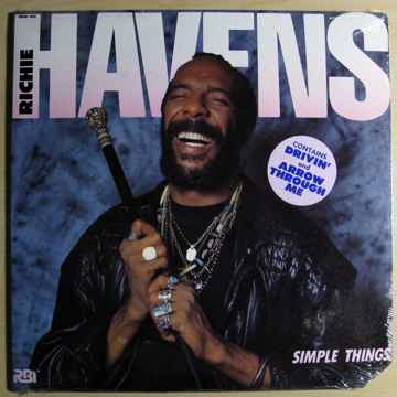 Richie Havens - Simple Things - SEALED LP - 1987 RBI R...