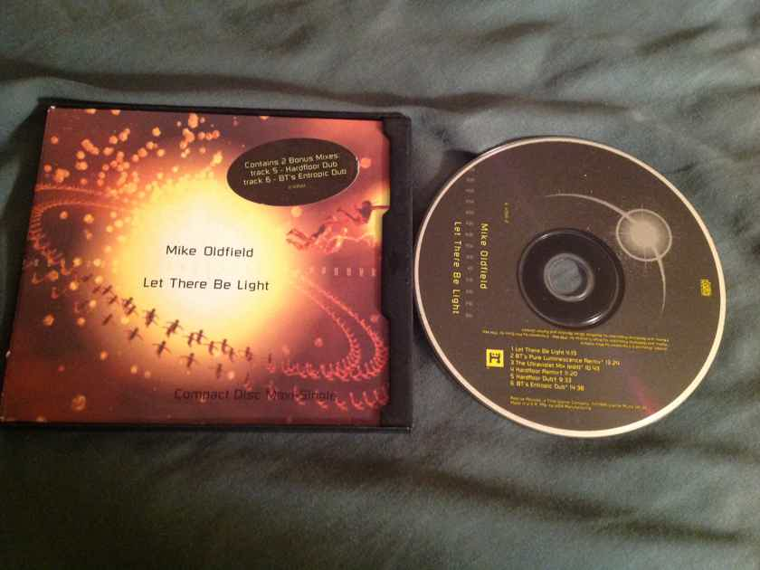 Mike Oldfield  Let There Be Light 6 Track Compact Disc EP