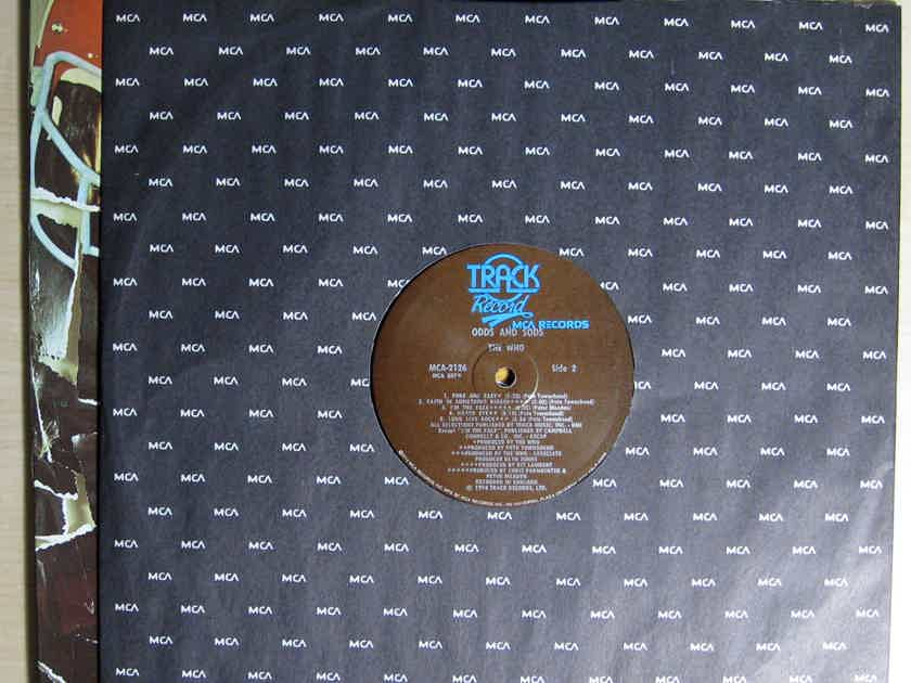 The Who - Odds & Sods -First Press 1974 Compilation MCA Records MCA-2126