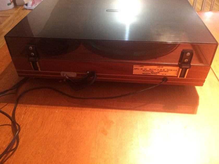 Systemdek II-X turntable profile tonearm shure rxt-4 cartridge