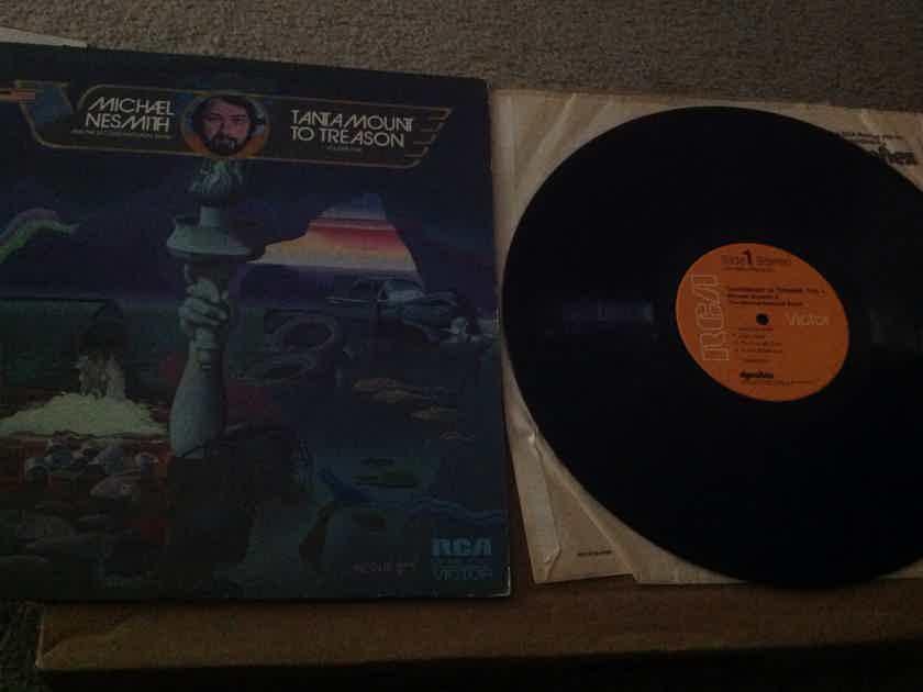 Michael Nesmith & The Second National Band - Tantamount To Treason Vol 1 RCA Records Orange Label Dynaflex Vinyl LP NM