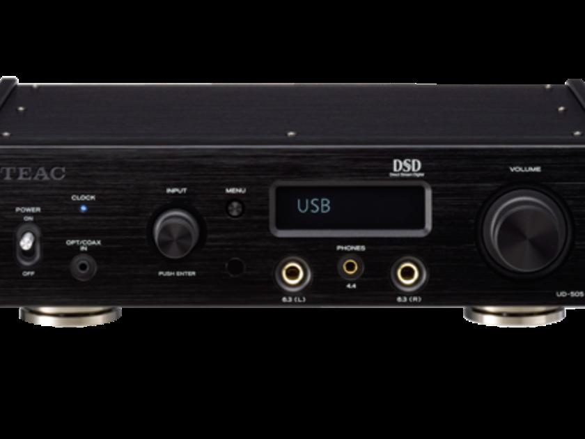 TEAC UD-505-B Dual-monaural USB DAC Headphone Amplifier (Black): NEW; Full Warranty; 33% Off