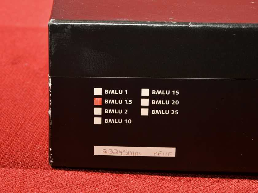 Transparent Audio Balanced MusicLink Ultra  - 1.5M Pair