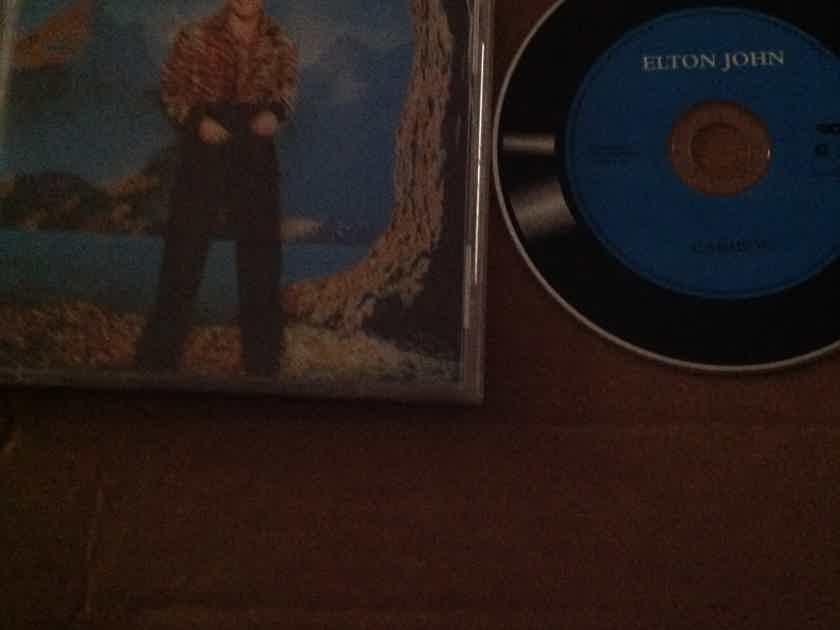 Elton John - Caribou Rocket Island Records Compact Disc
