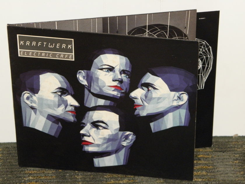 Kraftwerk  - ELECTRIC CAFE original german pressing EMI Kling Klang