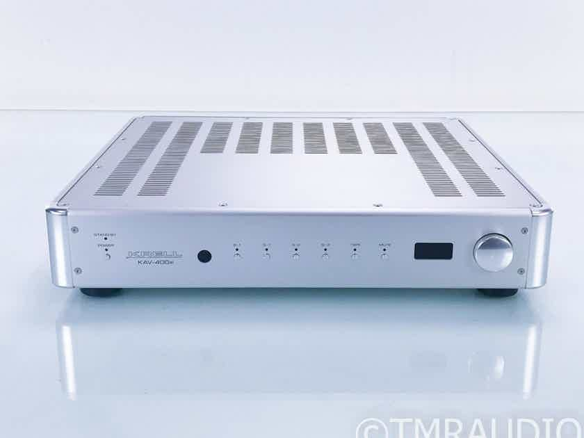 Krell KAV-400xi Stereo Integrated Amplifier; KAV400xi (Faulty Input; No Remote) (17315)