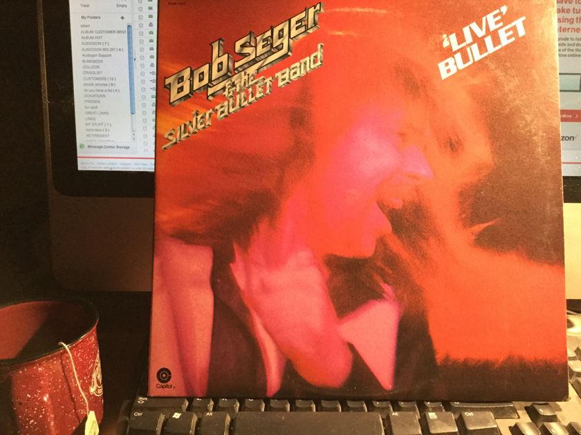 BOB SEGER - LIVE BULLET 2 RECORD LIVE SET