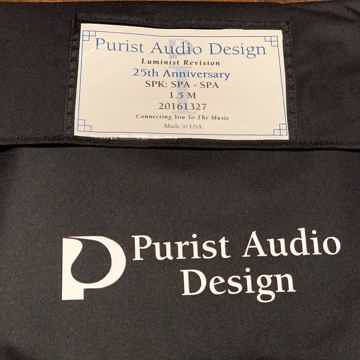 Purist Audio Design 25th Anniversary Luminist