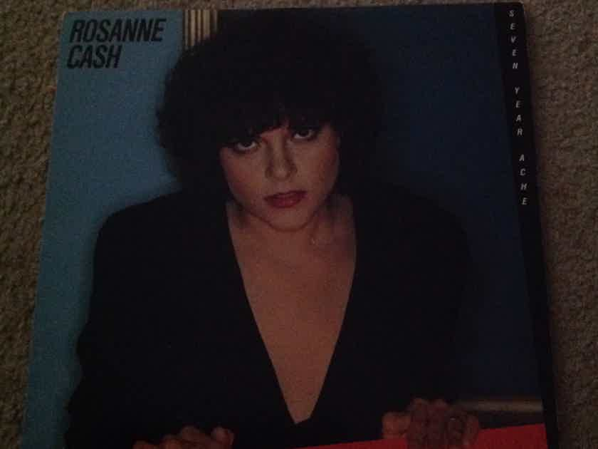 Rosanne Cash - Seven Year Ache Columbia Records Vinyl LP  NM