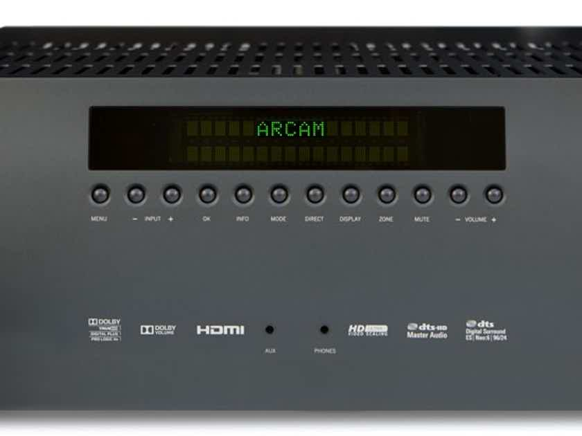 ARCAM FMJ AVR380 AV Receiver (Black): Excellent DEMO; Full Warranty; 50% Off; Free Shipping