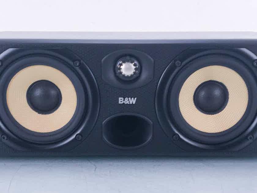 B&W CC6 Center Channel Speaker Ash Black; CC-6 (13717)