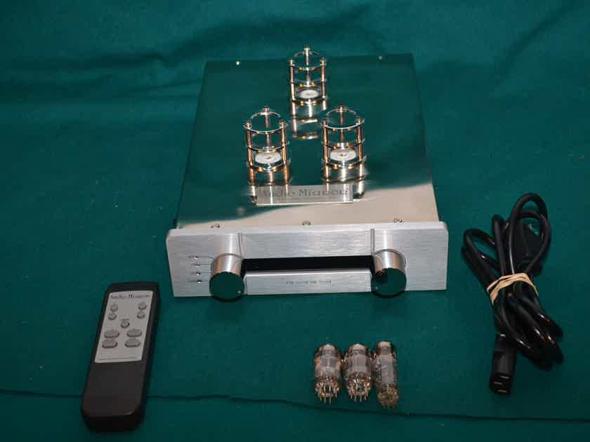 Audio Mirror  T-61 preamp, factory upgraded