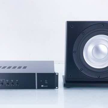 "Aaros A10-UT-1K Passive 10"" Subwoofer w/; L3-1K Amplifier"
