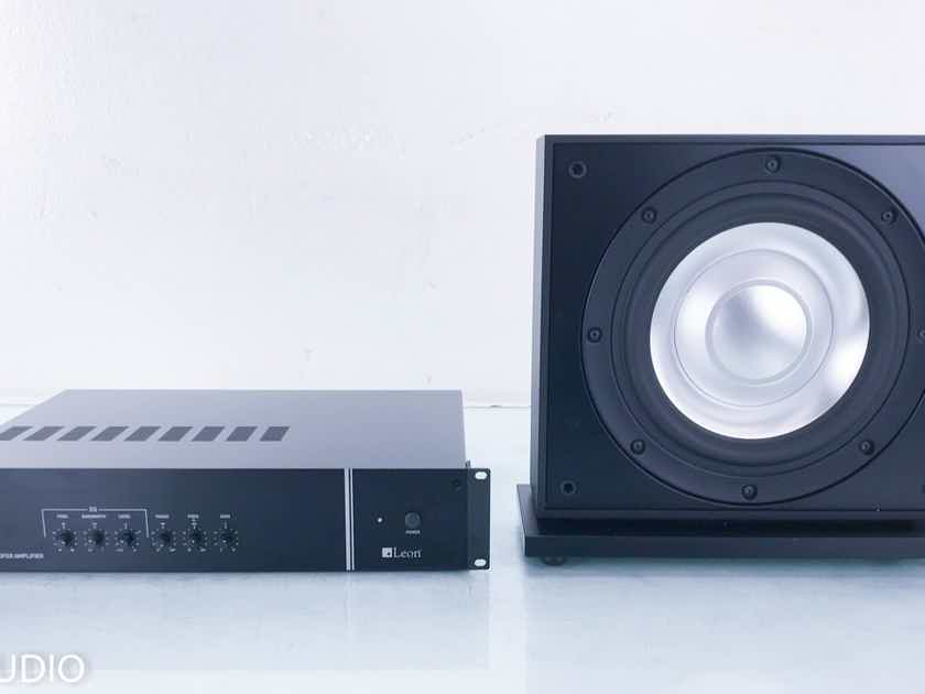 "Leon Aaros A10-UT-1K Passive 10"" Subwoofer w/; L3-1K Amplifier Leon L3-1K Amplifier (14112)"
