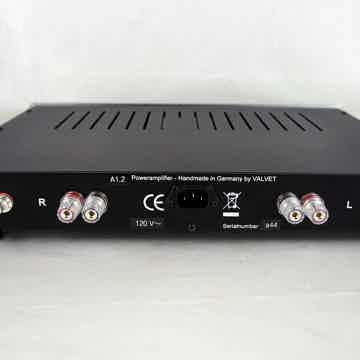 VALVET A1.2 Class-A dual-mono amplifier