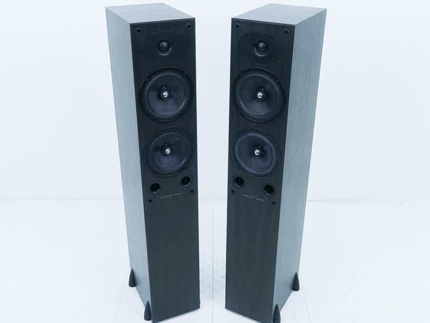 Mordaunt-Short Carnival 6 Floorstanding Speakers Black Pair (14307)