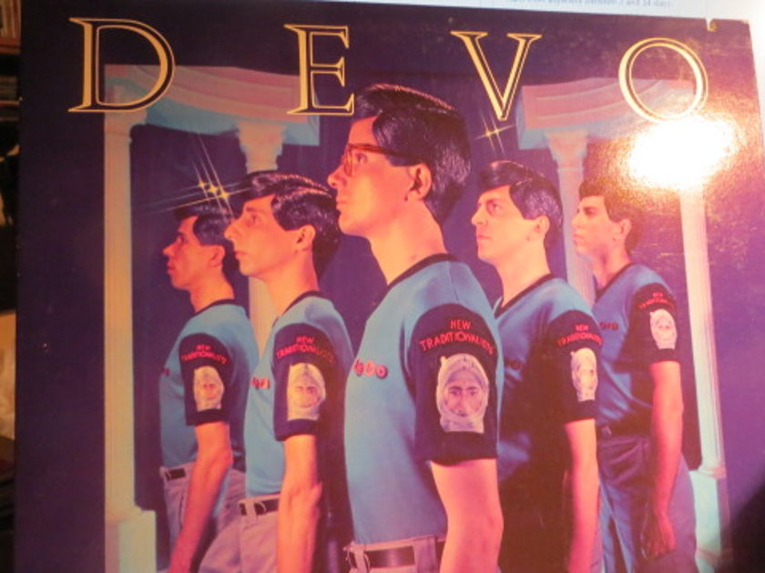 DEVO - NEW TRADITIONALIST POSTER INCLUDED w 45
