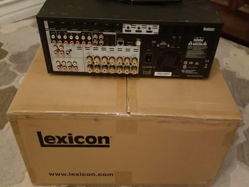 Lexicon RV9 class G amplification