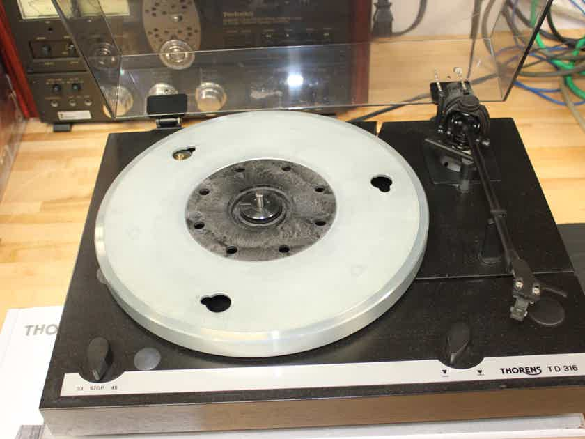 Thorens TD316 Turntable Record Player - In Excellent Condition - Made in Germany