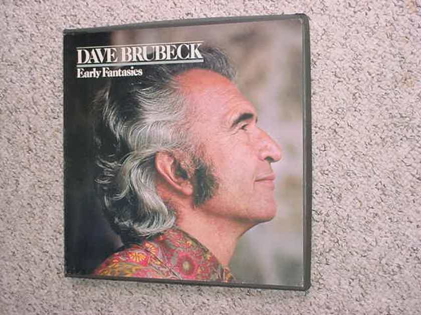 JAZZ Dave Brubeck 3 LP RECORD BOX SET - Early Fantasies 1980