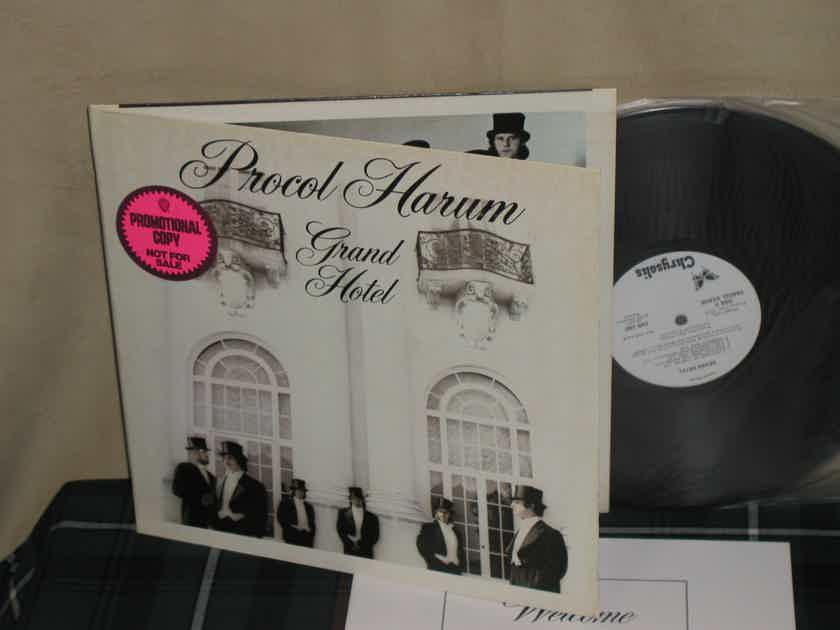 """Procul Harum - """"GRAND HOTEL"""" (w/Book) WL Promo from 1973!"""